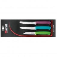 Set kuhinjskih nožića Dick 3 kom COLOR D85700-09