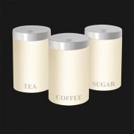 Set metalnih spremnika za kavu, čaj i šećer BH-1353