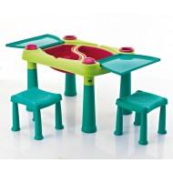 Keter Creative dječji stolić s dvije stolice