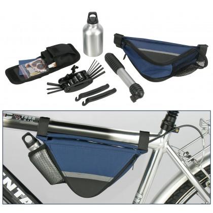 Torbica za bicikl s dodatnom opremom