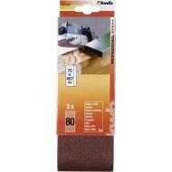 KWB Brusna traka papir za drvo i metal, 75x457 mm, GR 80, 3/1