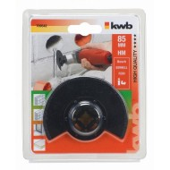 KWB Multi-tool polukružni nastavak za pločice i fuge, HM,  85 mm