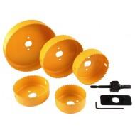 Set kružnih pila za drvo 8/1, 67-127mm
