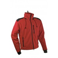 Softshell jakna crveno-crna MORGAN Getout FTG011