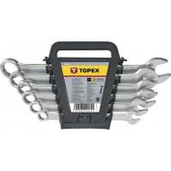 Set okasto-viličastih ključeva Topex