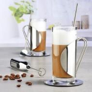 Caffe Latte macchiato set