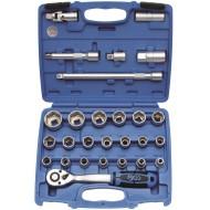 Set nasadnih ključeva sa bitovima BGS 2224-27 dij
