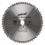 List KP 315 x 30x 3,2 mm 28z Wolfcraft W6742