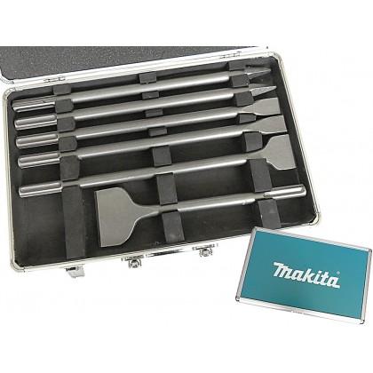 Makita set špica i sjekača sds-max 6-komada D-42488