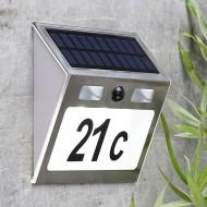 Solarni kućni broj s detektorom pokreta HH60253