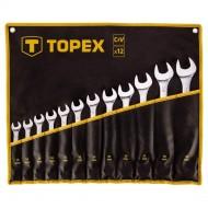 Set okasto-viličastih ključeva 12 kom Topex 35D758