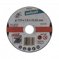 Rezne ploče INOX 115 mm (3 kom) Wolfcraft W8460