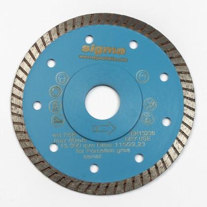 Rezna ploča Sigma 75B Turbo pro 115 x 1,3 x 22,2 mm