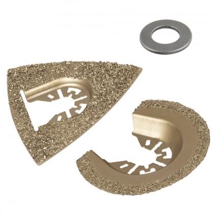 Wolfcraft W3993 Set pribora za vibro-pilu kamen/keramika...