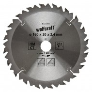 List KP 160 x 20 x 2,4mm 20z  Wolfcraft W6733