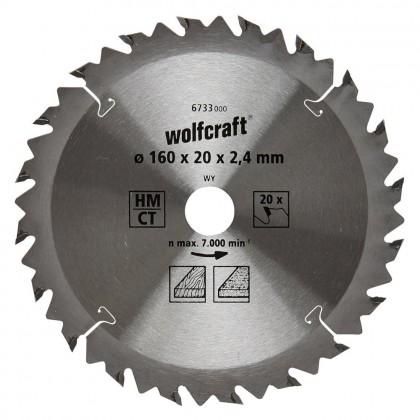 List KP 160 x 20 x 2,4mm 20z  Wolfcraft W6733