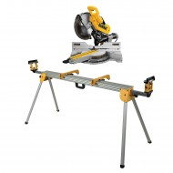 Pila preklopno potezna + stol za pilu Dewalt DWS780SET, list pile 305mm 1675W
