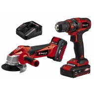 Einhell PXC TC-TK 18 Li Kit (CD+AG), set aku bušilice i brusilice