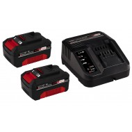 Einhell PXC Starter Kit 36V, 2x3.0 Ah (2 x 3.0 Ah baterije + punjač)
