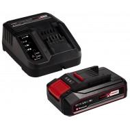 Einhell PXC Starter Kit 18V 2.5 Ah , punjač i baterija