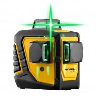 NIVEL SYSTEM križno-linijski laser CL3D-G + stativ SJJ-M1 3 zelene zrake