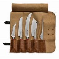 Dick D81768-00 Red Spirit set 5 noževa i kožna roll-torbica