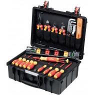 Wiha L električarski kofer - 34-dijelni set