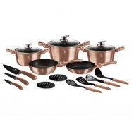 Berlinger Haus 17 djelni set za kuhanje, Metallic Line Rose Gold  Edition