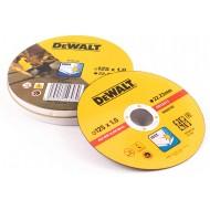 Rezna ploča za metal inox čelik Dewalt DT3507, 125×1.0mm 10/1