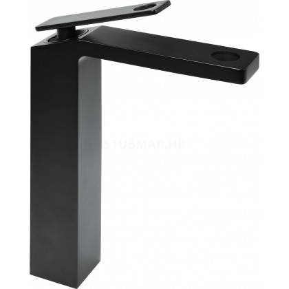 Fala T75881 Noir 1 slavina za umivaonik visoka crna