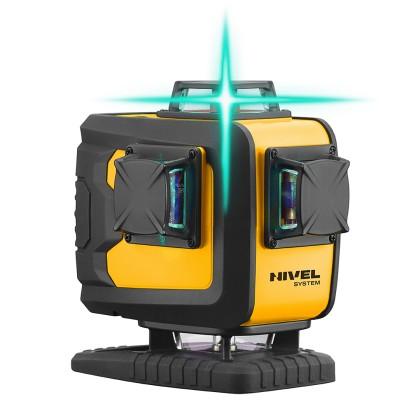 Nivel System Laserski nivelir CL4D-G 4x360° zelena zraka
