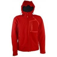 Softshell jakna crvena WILLIAM Getout FTG027