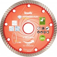 KWB AGGRESSO-FLEX dijamantna rezna ploča, ekstra tanka, 125x1,2 mm