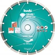KWB CUT-FIX dijamantna rezna ploča 230x2,2 mm, Green-Line