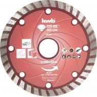 KWB CUT-FIX dijamantna rezna ploča 115x2,1 mm, Red-Line