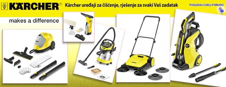 Kärcher uređaji za čišćenje, rješenje za svaki Vaš zadatak